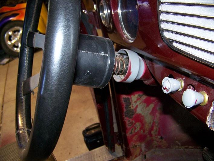 Oval Steering: Slop