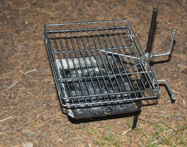 Perfect Grill for Westy