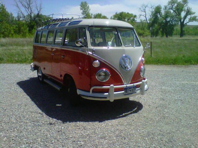 1964 21 window bus