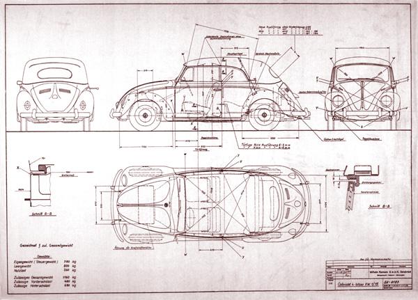 Thesamba gallery beetle cabriolet blueprint beetle cabriolet blueprint malvernweather Gallery
