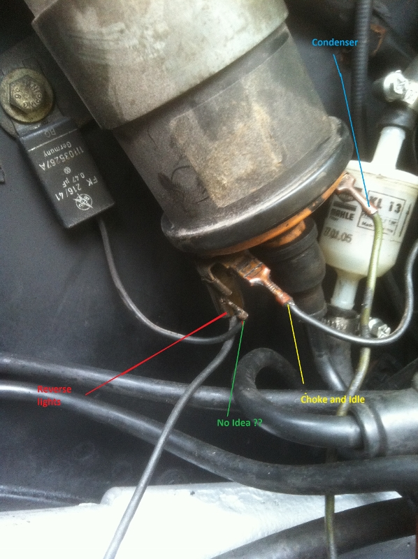 TheSamba       Beetle     Late ModelSuper  1968up  View topic  1975 1200    Coil       Wiring    Issues