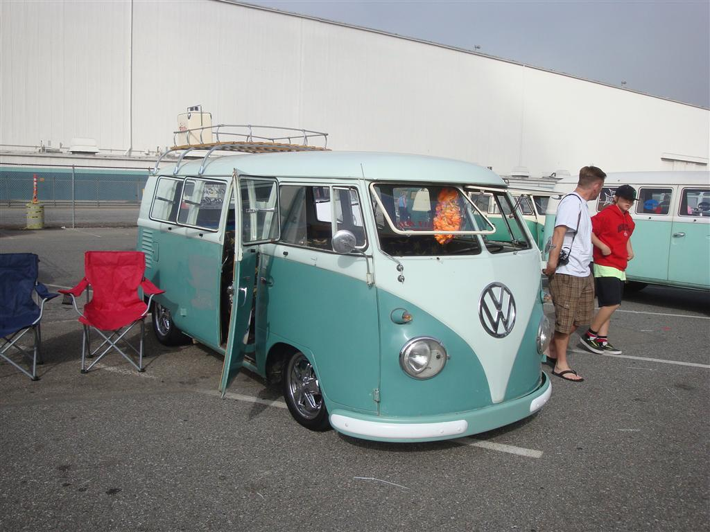Lowered Turquoise Standard Microbus