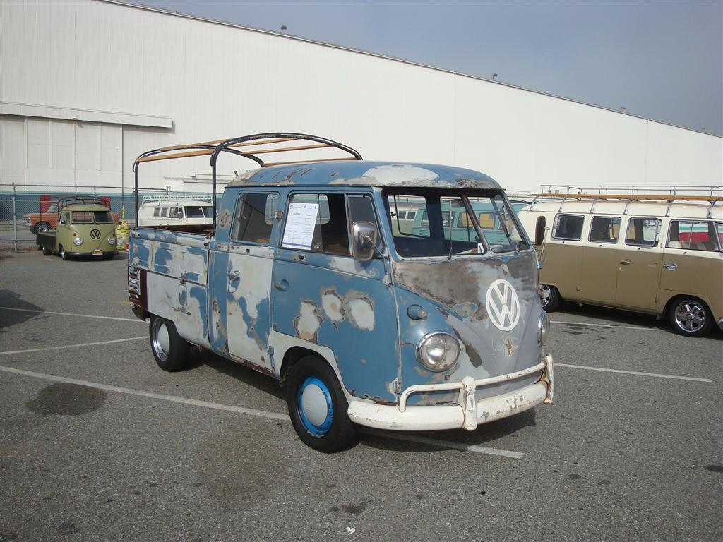 Dove Blue Double Cab