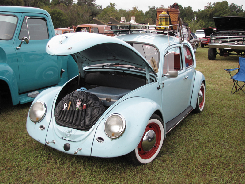 My 69 Bug at Monster Transmission Auto Show