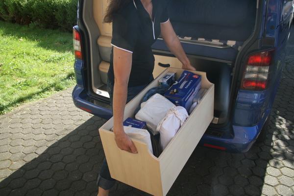 Eurovan trunk improvement