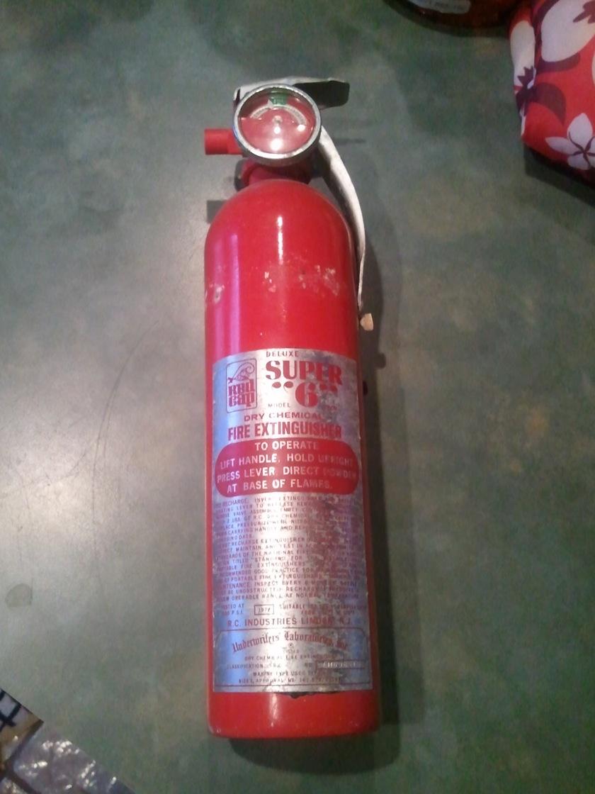 Fire extinguisher 72