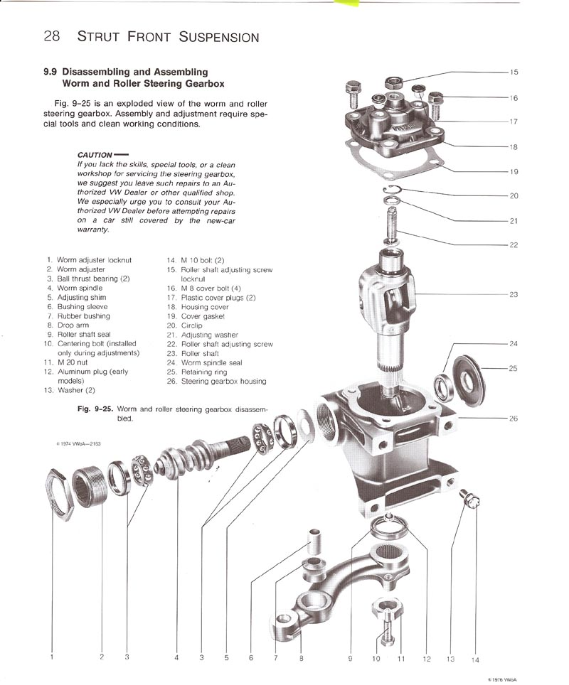 Vw Beetle Steering Column Diagram
