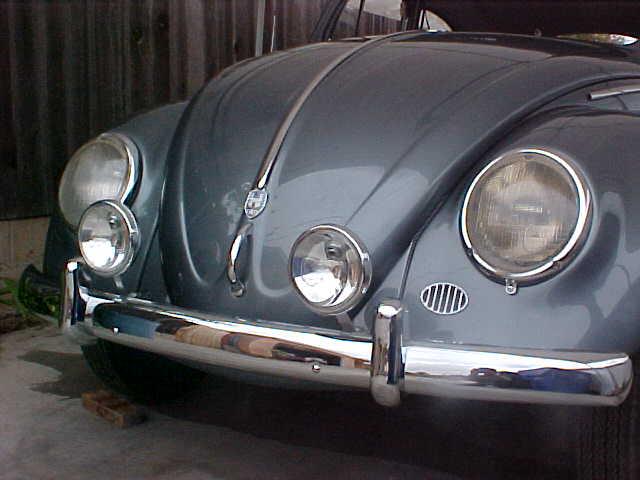 on Vw Beetle Back Lights