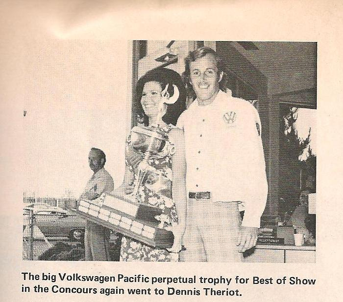 """Bug-In #1 """"Best Of Show"""" perpetual trophy !"""