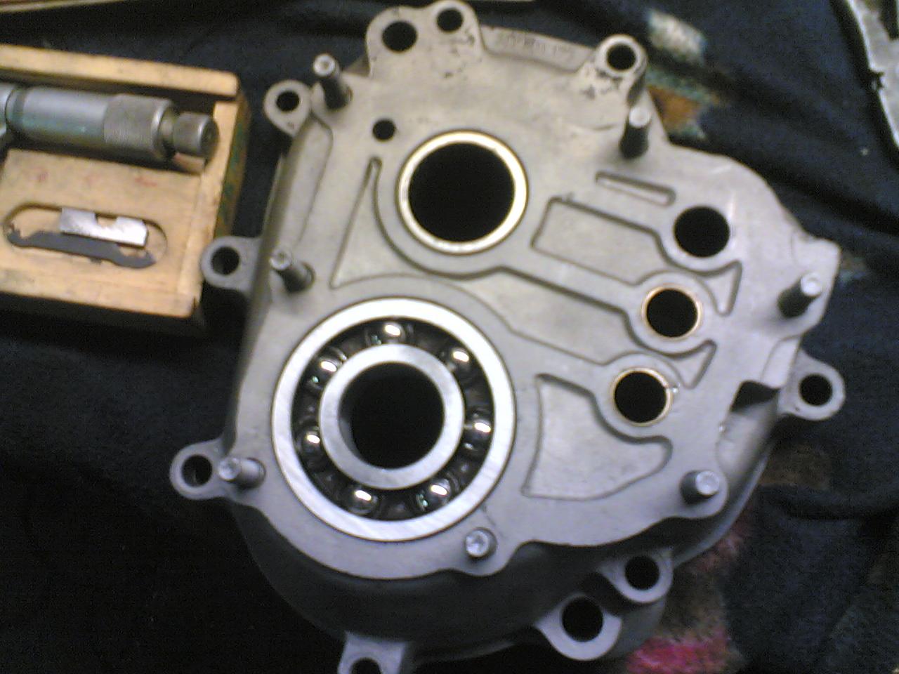 1300 gearbox rebuilt into 3.88 r/p