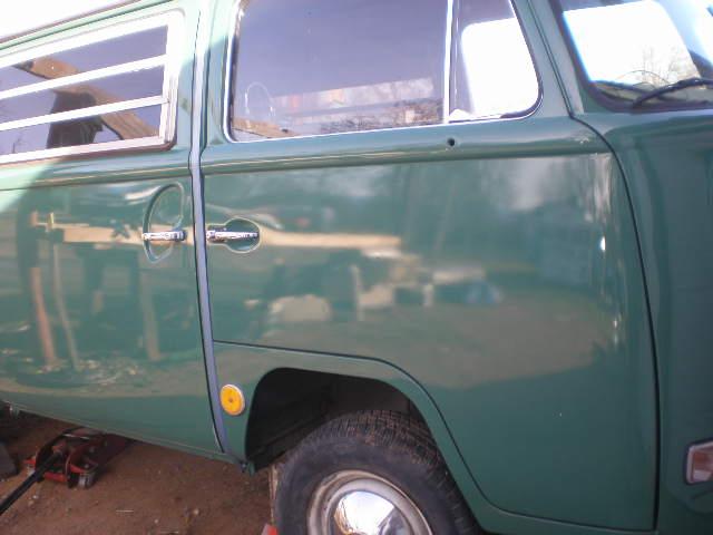 Velvet Green '68 Bay Window