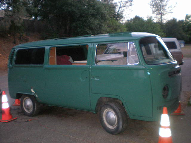Velvet Green '68 Bay Window