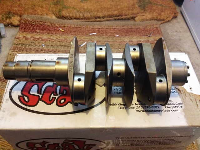 Scat Billet 356/912 crankshaft for my oldspeed  project