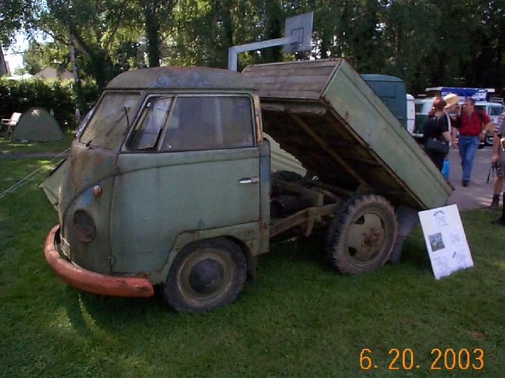 TheSamba com :: Gallery - VW Dump Truck