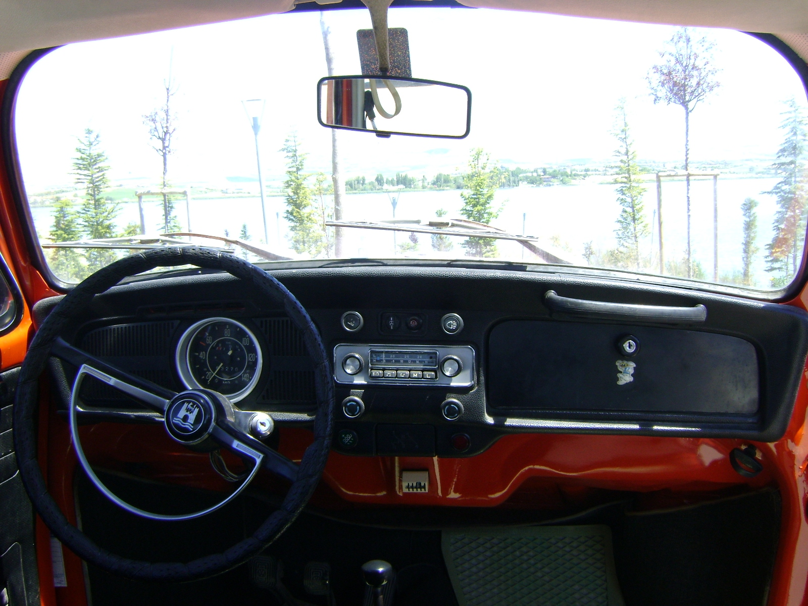 TheSamba com Gallery My 71 Super Beetle Dashboard