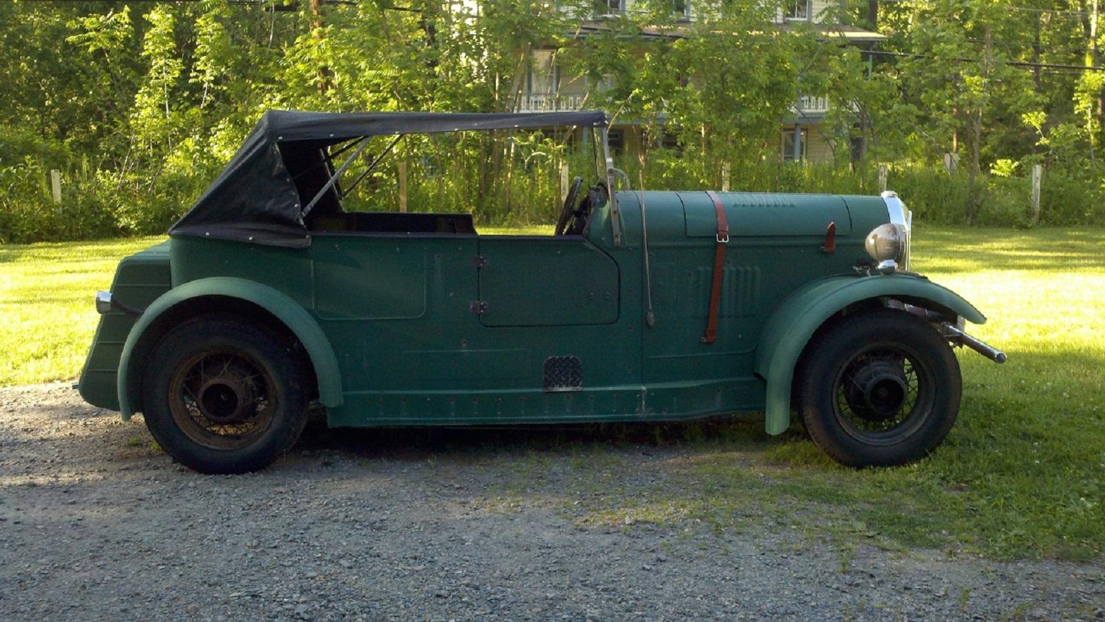 TheSamba.com :: Gallery - My 1930 Bentley \