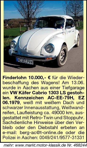 Stolen Super beetle