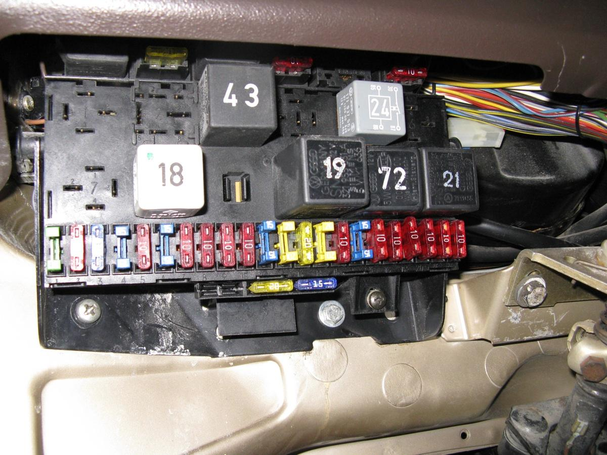86 Mercede Fuse Box - Wiring Diagram Networks