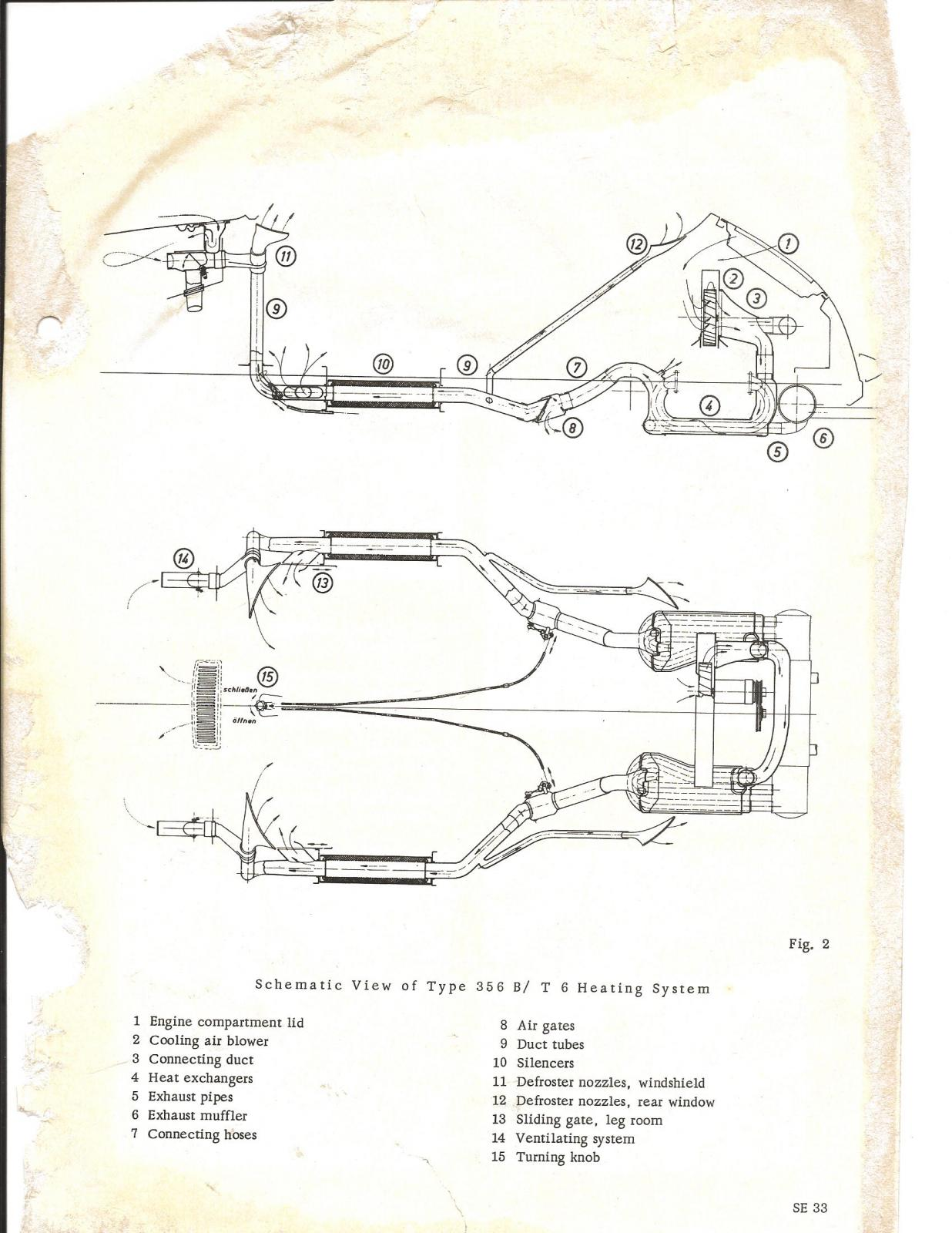 Porsche 356 View Topic 356b European Exhaust 365 Engine Diagram Image May Have Been Reduced In Size Click To Fullscreen