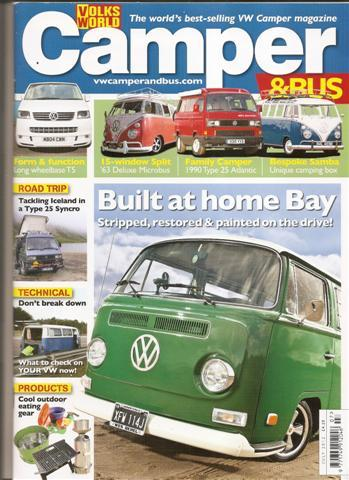 July 2012 Volksworld Camper and Bus