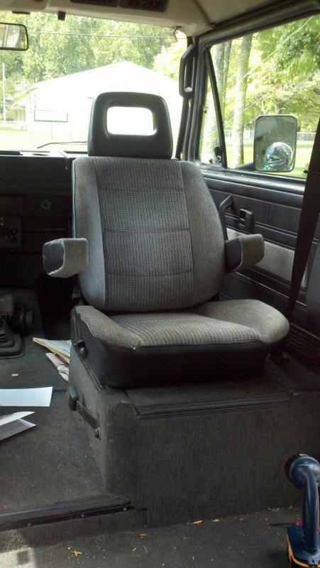 Seat rail mod