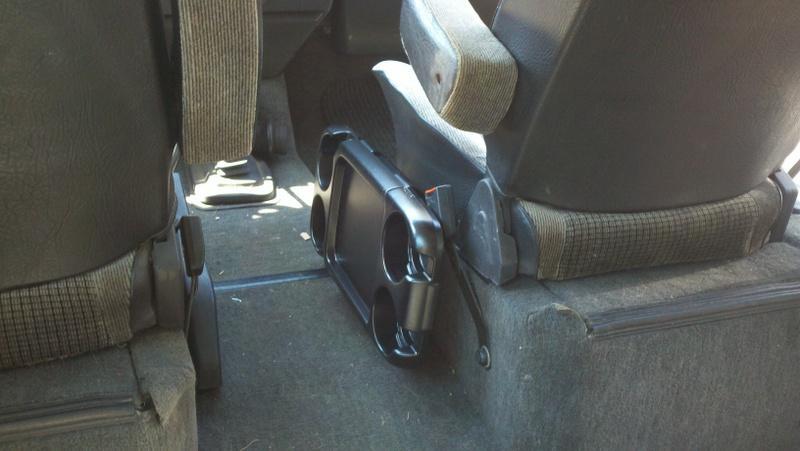 Honda Odyssey console