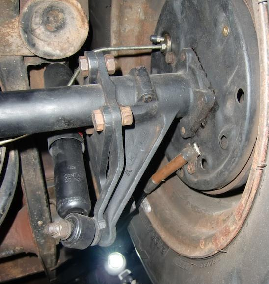 E-brake cable routing on 66 bus with straightaxle conversion