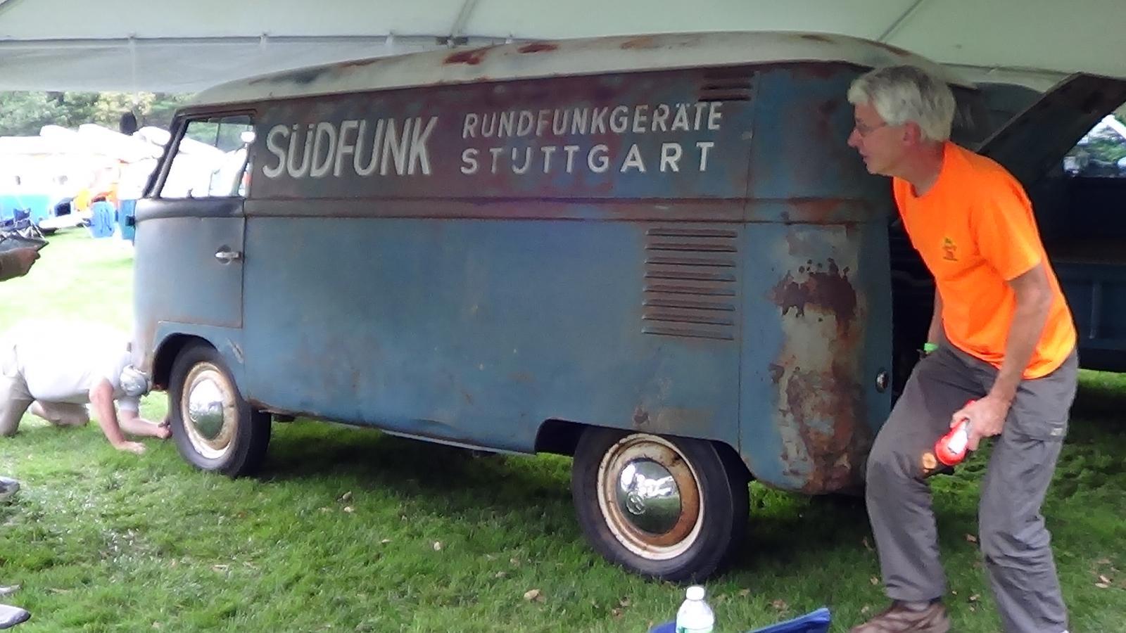 The 1950 Sudfunk Bus