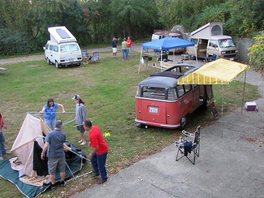 Transporterfest Camping, 2012