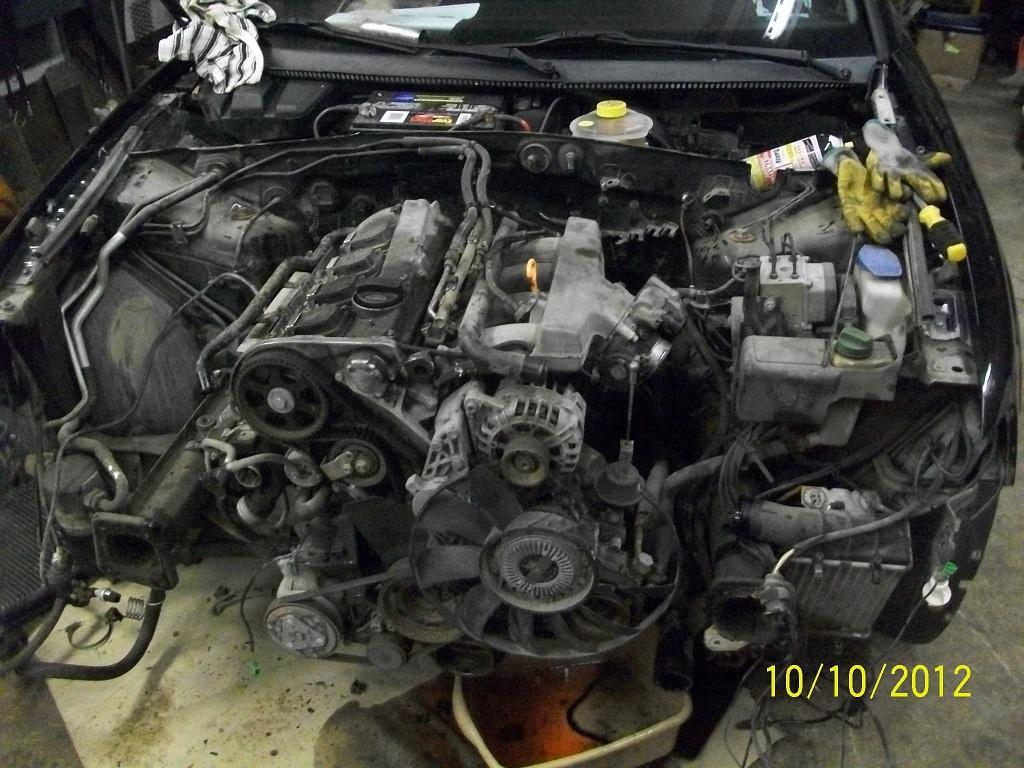 TheSamba.com :: Gallery - vanagon engine donor 99 Passat ...
