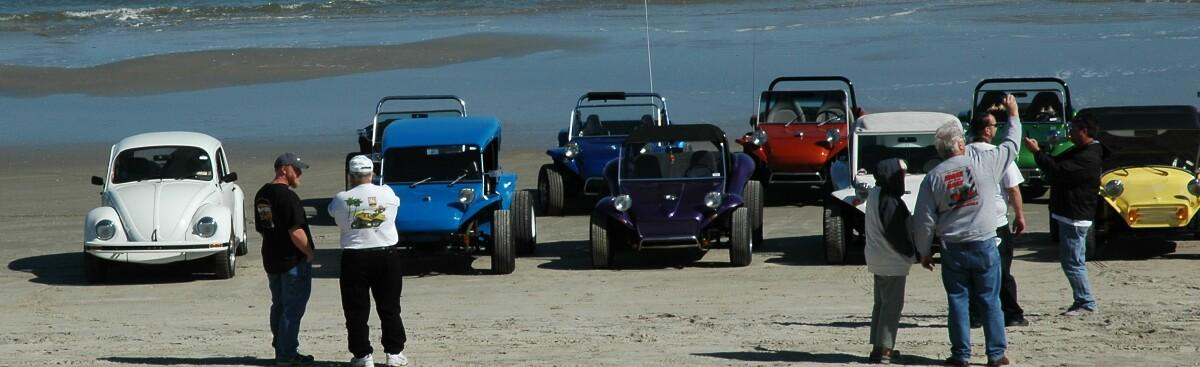 2012 Manx on the Banx Dune Buggy Lineup