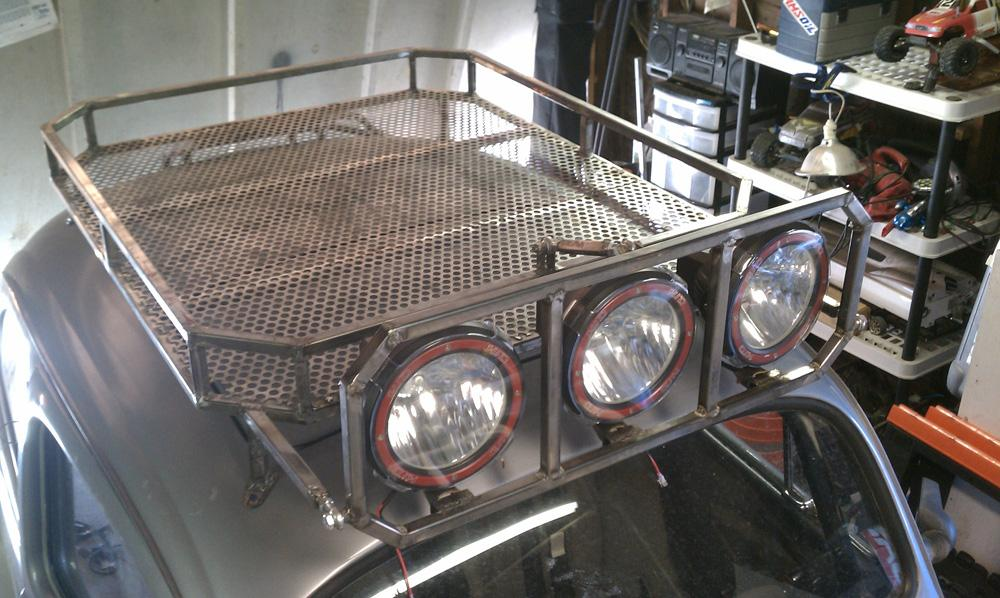 Baja Bug Roof Rack / Light bar