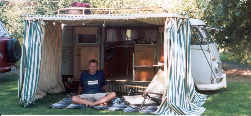 My camper at familien fest 2000