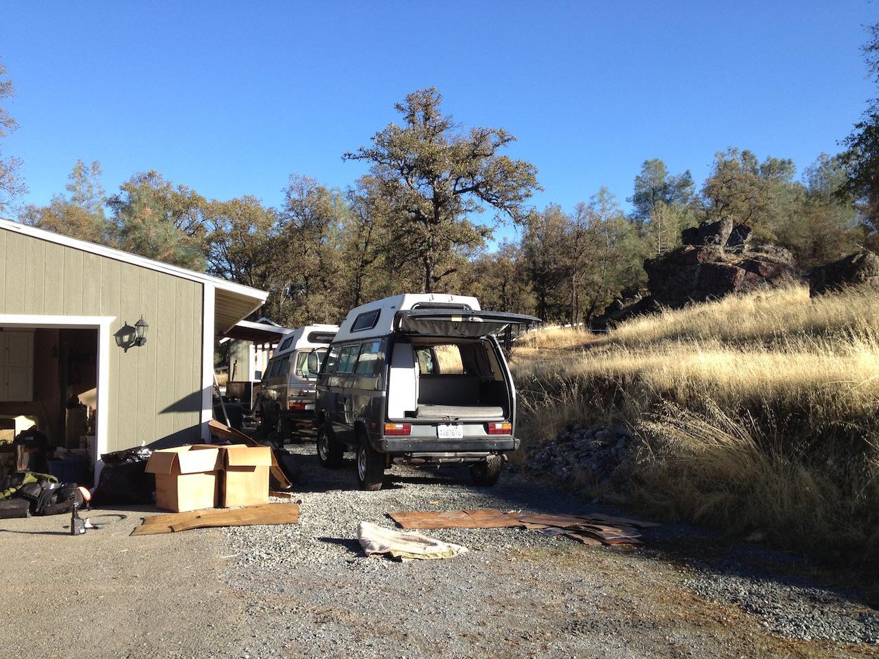 Westfalia camper kit installed in to a Adventurewagen