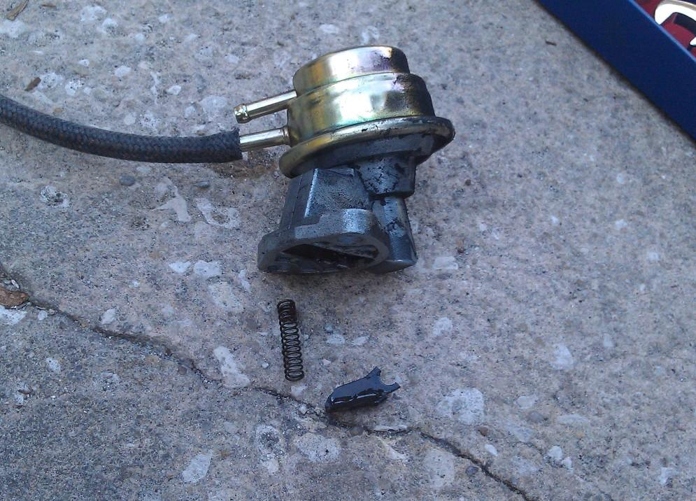 Fuel pump after only 6 months and under 200 miles