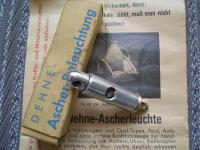 MY VW OVAL 1953 - NOS DEHNE 6V ASHTRAY LIGHT