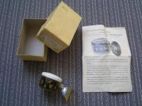 """MY VW OVAL 1953 - NOS """"Sufft"""" Suction COMPASS"""