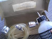 MY VW OVAL 1953 - ULTRA RARE NOS Helphos windshield washer KIT