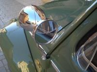 MY VW OVAL 1953 - NOS HELLA CHROM SPOTLIGHT MIRROR/ARM