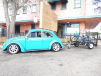 Beetle with trailer
