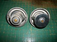 Thermostats bottom disks