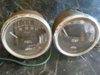 Jaeger Oil Pressure and Fuel Gauges