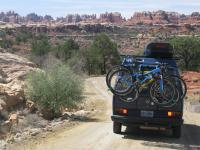 Van in Wilderness - Canyonlands