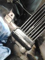 new case oil cooler flange