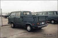 Vanagon Double Cab at the Port of Houston, TX