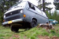 vans in the wilderness