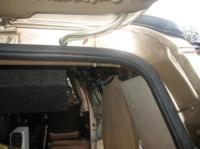 rear wiper grommet tube hack