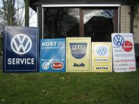 Original VW & Audi dealer signs