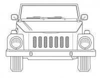 Thing with Jeep-style grill.