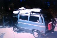 Syncro in the snow- new year